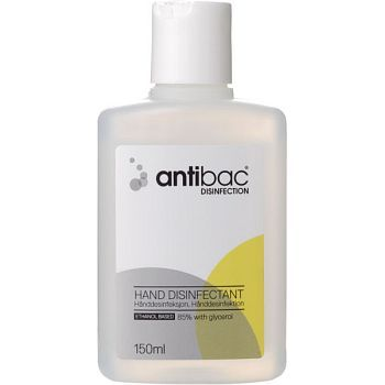 Antibac Hånddesinfeksjon Antibac lommeflaske, 150 ml 24FL