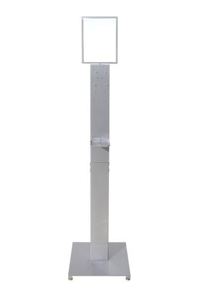 Antibac Gulvstativ Stål, grå