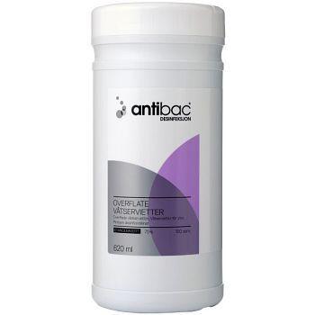 Antibac Våtserviett Antibac, 150stk pr boks
