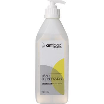 Antibac Hånddesinfeksjon Antibac med pumpe, 600 ml
