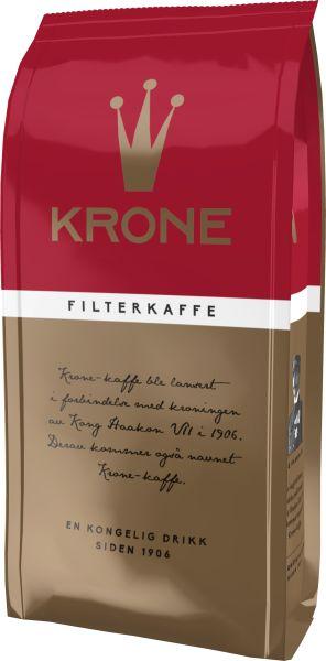 Krone Kaffe Krone 250gr Filtermalt