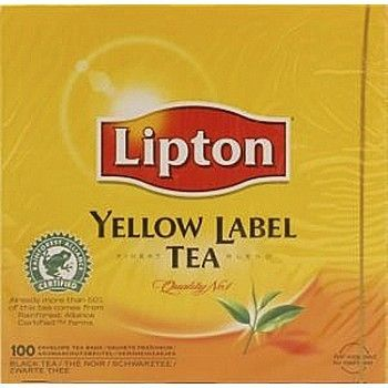 Lipton Te Lipton, Yellow Label