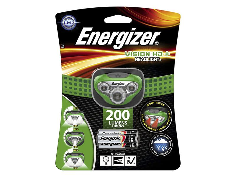 Hodelykt Energizer Vision HD+