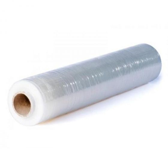 Strekkfilm 45cm x 300m, 17my klar plast (6 rl)