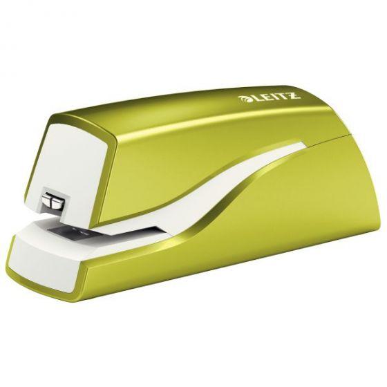 Stiftemaskin batteri Leitz WOW, Grønn metallic