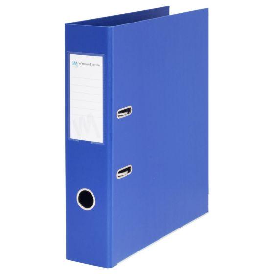 Perm A4 Plast, 8cm, blå (10 stk)