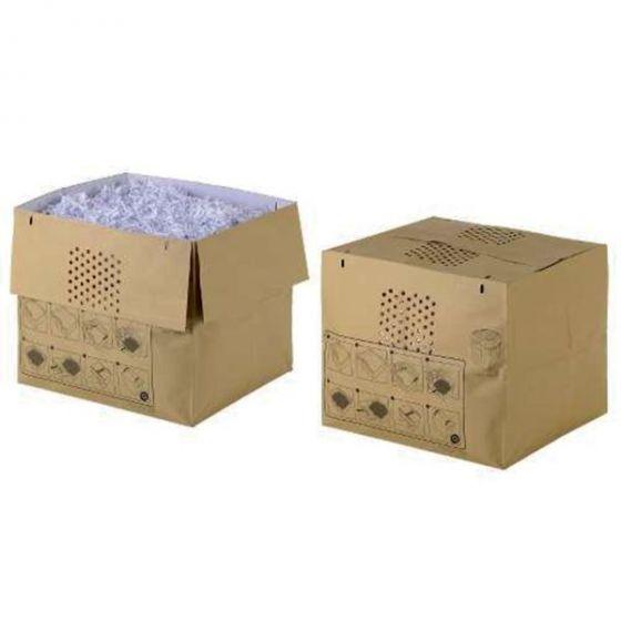 Avfallspose i papir til Rexel Auto+750 - 115 liter (50 stk)
