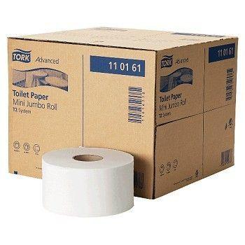 Toalettpapir Tork Advanced mini jumbo T2, 240meter 1-lag