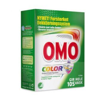 Vaskemiddel Omo Color pulver, 4.5kg
