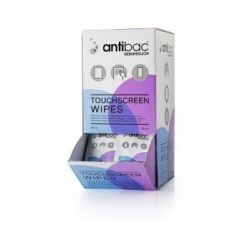 Antibac Touchscreen wipe enkeltpakket (95 stk)