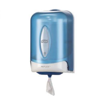 Dispenser Tørkepapir Tork Reflex Mini Senterrull M3, blå