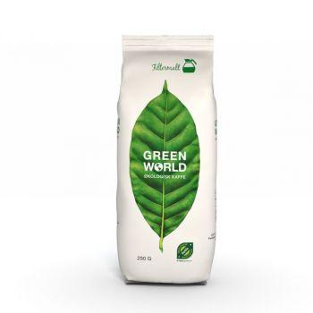 Kaffe Green World, filtermalt, 250g