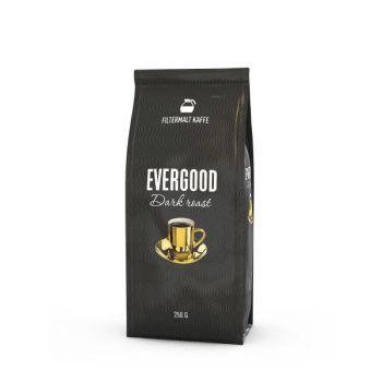 Kaffe Evergood Darkroast, filtermalt, 250g