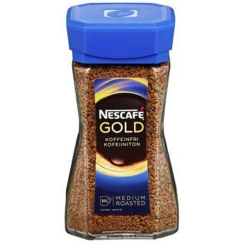 Kaffe Nescafe, Koffeinfri, 100g