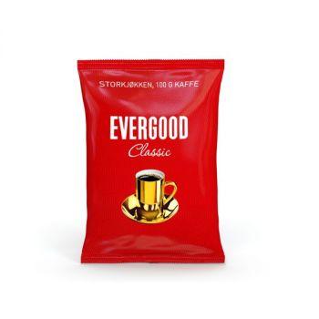 Kaffe Evergood, finmalt, 100g