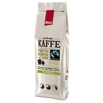 Kaffe Friele Cafe Noir Fairtrade, filtermalt, 250g