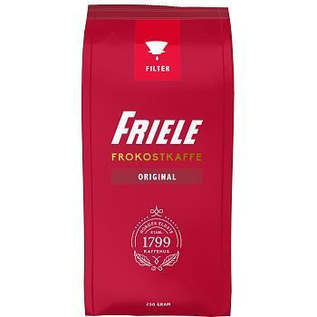 Kaffe Friele Frokostkaffe, filtermalt, 250g