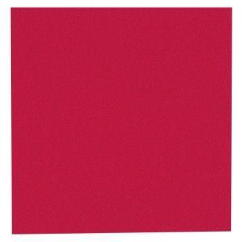 Serviett Duni rød 33x33cm 3-lags (125 stk)