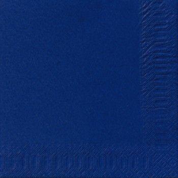 Serviett Duni Tissue Mørk Blå 33x33cm 3-lags (125 stk)