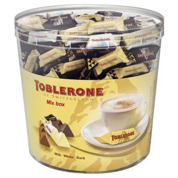 Toblerone Tiny Mix Sylinder Enkeltpakket 904Gr