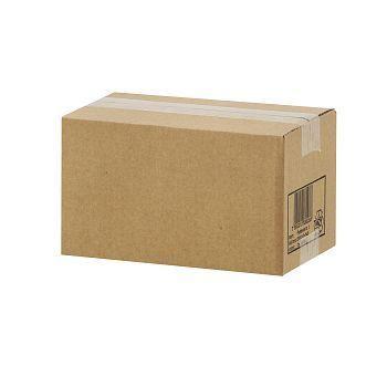 Pappeske Posteske 1, automatbunn 250x140x140mm, brun