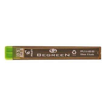 Miner til trykkblyant HB 0,5mm Begreen (10 Etui)
