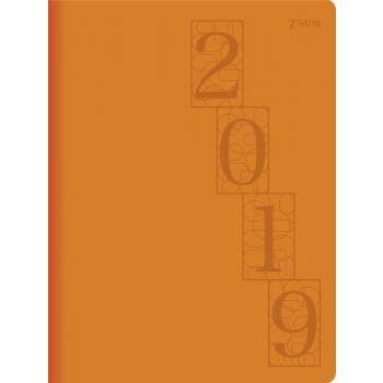 7.sans Primo Trend - 7,2x10,2cm - rosa - imitert skinn