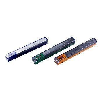 Stiftekassett 8mm for 25 til 40 ark, Gul (5 stk)