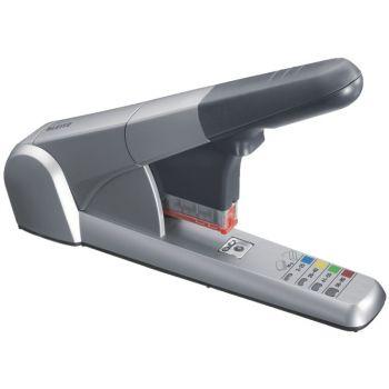 Stiftemaskin for stiftekassetter Leitz 5551HD, Sølv