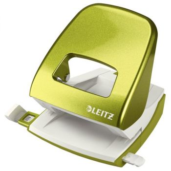 Hullemaskin Leitz 5008 2-hull, Grønn Metallic