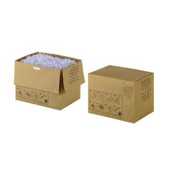 Avfallspose i papir til Rexel Auto+300 - 40 liter (20 stk)