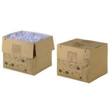 Avfallspose i papir til Rexel Auto+600 - 80 liter (50 stk)