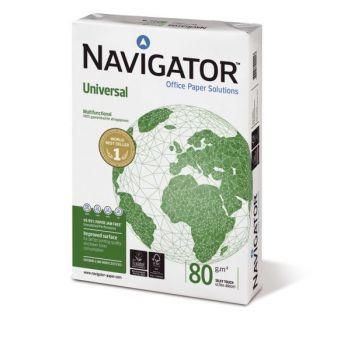 Kopipapir - A4 - 80g - Navigator Universal (5x500 ark)