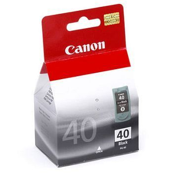 Skrivehode Canon PG-40 sort