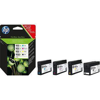 Blekk HP 950XL/951XL C2P43AE Sort/Cyan/Magenta/Gul