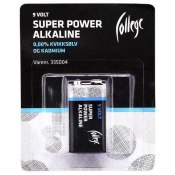 Batteri 9V College 6LR61