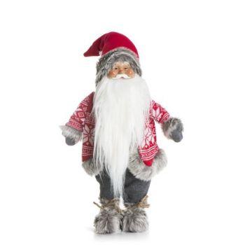 Julenisse Hovden rød og grå, 69cm