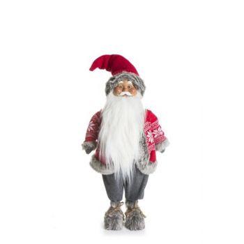 Julenisse Hovden rød og grå, 87cm