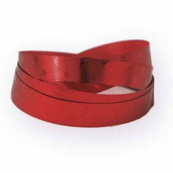 Pakke- og gavebånd Stars, rød 10mm x 100m