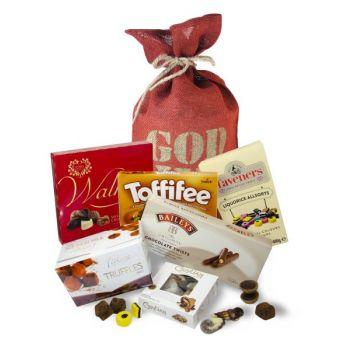Julesekk med konfekt og sjokolade, 1100gr