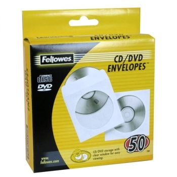 CD-konvolutt i papir 50 stk