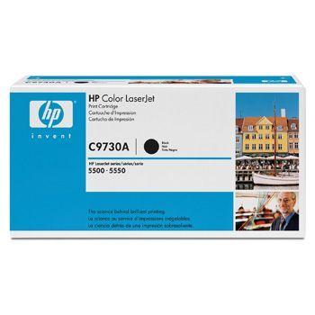 Toner HP C9730A Sort