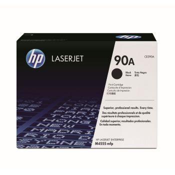 Toner HP 90A Sort CE390A 10.000 sider
