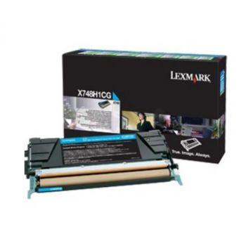 Toner Lexmark X748H3CG Cyan 10.000 sider