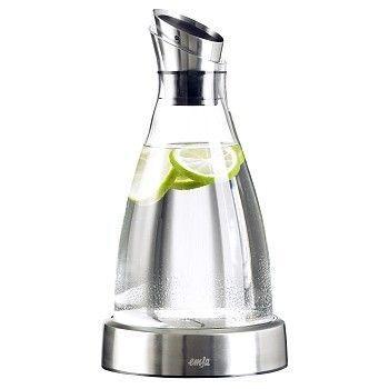 Karaffel Flow, glass, 1 Liter