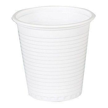 Beger hvit plast 12,5cl