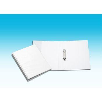Innstikkperm A5 PVC, 2 rings 45mm, Hvit