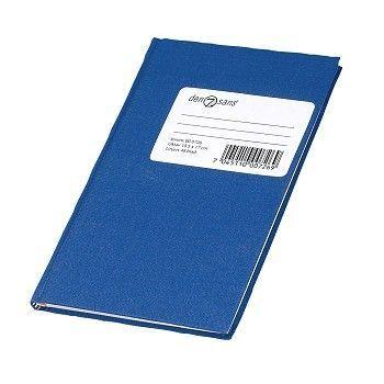 Protokoll Oktav 48 blad, linjer, Blå