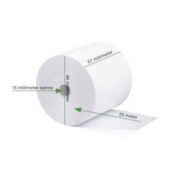 Bankrull 57x46x12mm, 25 meter Termisk (Bhispenolfri)