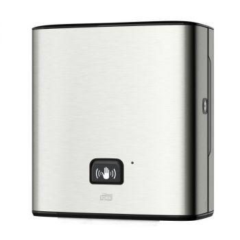 Dispenser Tork Matic  håndtørk H1 sensor børstet stål